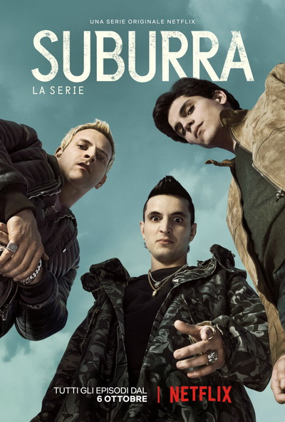 SUBURRA :BLOOD ON ROME   SEASON 1 ( 10 ตอนจบ )    NETFLIX