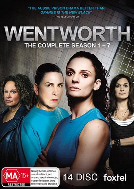 Wentworth season 1-7 (2013-2019)
